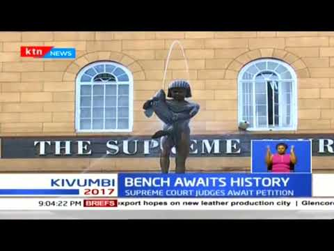A look into the seven judges who will listen to Raila Odinga's petition