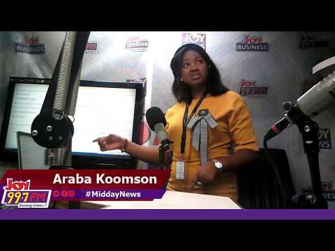 #MiddayNews on Joy FM (21-10-19)