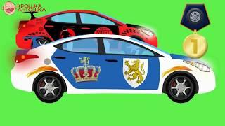 Машинки. Мультик про гонки и гоночные машины. Видео для детей