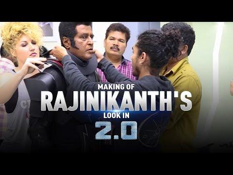 Making of Rajinikanth's look in 2.0 | S. Shankar | Akshay Kumar