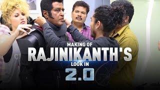 Making of Rajinikanth's look in 2.0   S. Shankar   Akshay Kumar