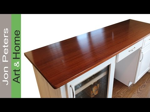 The Process for Making Wood Countertops