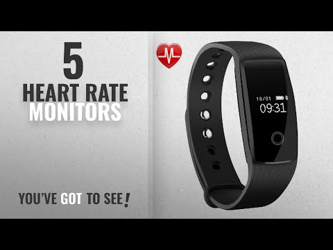 Top 10 Heart Rate Monitors [2018]: Fitness Tracker, Mpow Heart Rate Monitor Tracker Smart Bracelet