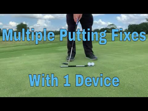 Golf Video Tips, Improving Multiple Aspects of Putting with the Putt Ruler