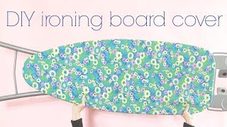 Sew A DIY Ironing Board Cover