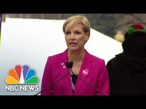 Cecile Richards Rallies for Reproductive Rights at Women's March | NBC News