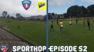Sporthop EP 52- Red card, miss peanlty and world class saves (El Farolito vs FCM Portland)