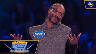 Snoop Dogg's Hilarious Fast Money EXCLUSIVE EXTENDED VERSION - Celebrity Family Feud - dooclip.me
