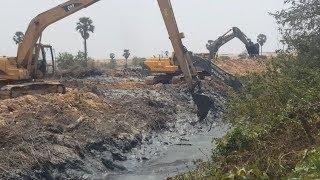 Great Work 3 Long Reach Excavator VS Mud