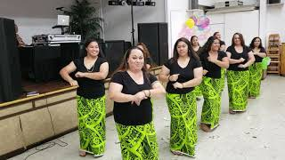 Oct2018 Siva Samoa(50th Birthday Party SIO MAUGA)• MaugaGirls•Maugaville Hawaii