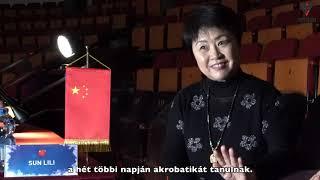 Interjú Sun Lilivel, a Chine National Acrobatic Troupe Kreatív Igazgatójával
