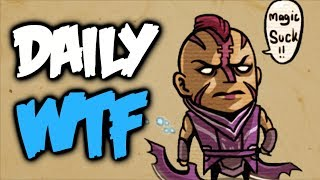 Dota 2 Daily WTF - Finish him