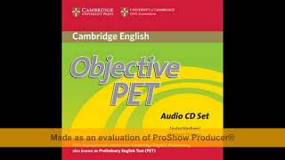 objective pet practice test audio cd download - TH-Clip