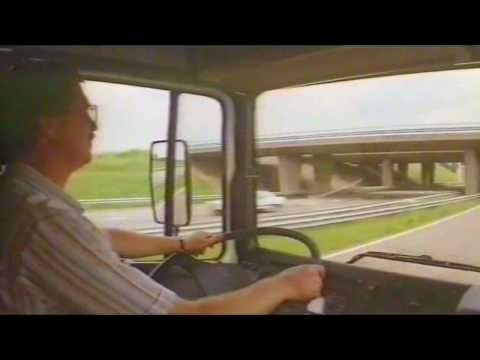 1980\'s video launch DAF 95XF
