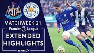 Newcastle v. Leicester City   PREMIER LEAGUE HIGHLIGHTS   1/1/20   NBC Sports
