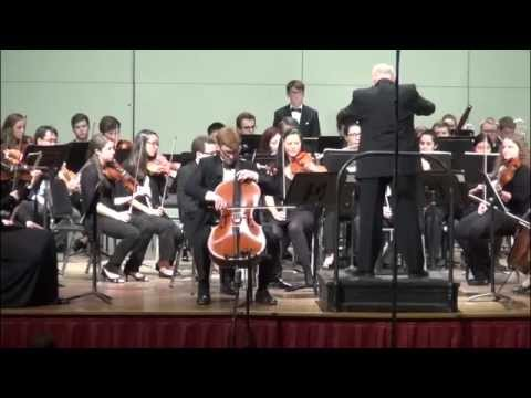 Alexander plays the Cello Concerto in B minor by Antonín Dvořák with the UNC Symphony Orchestra conducted by Tonu Kalam.