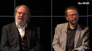 ABBA's Benny and Bjorn reveal special 'moment' from shock reunion   ITV News   YouTube 1080p