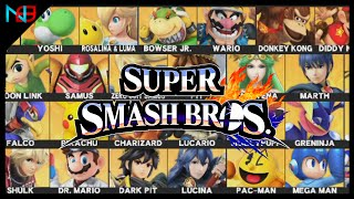 Super Smash Bros. Wii U: How To Pick A Main Character