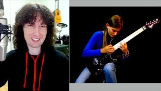 British guitarist reacts to Tina S's total lack of ANY inadequacy!!!