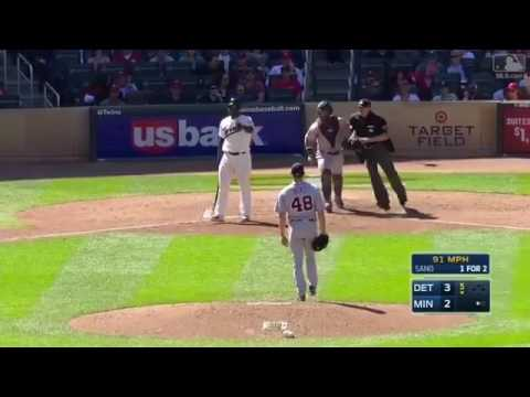 Tigers vs Twins BENCH CLEARING BRAWL with Miguel Sano