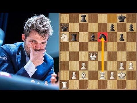 When in London... || Carlsen vs Aronian || Grand Chess Tour Finals (2019)