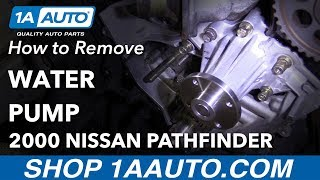 Replacing Water pump & Gallery Gasket Infiniti G37 Nissan