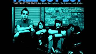 Fall out boy - chicago is so two years ago (Lyrics)