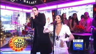 """G-Eazy & Halsey Perform """"Him & I""""  (GMA LIVE)"""