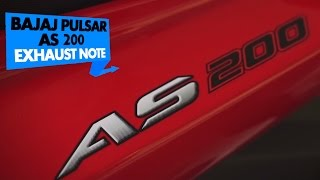 Bajaj Pulsar AS200 | Exhaust Note | PowerDrift