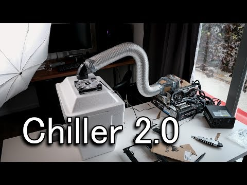 DIY PC chiller version 2.0 (Final proof of concept)
