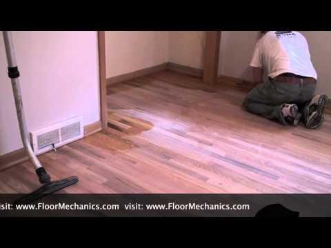 How to Tack a Hardwood Floor