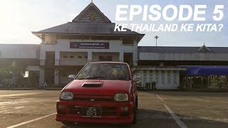 preview picture of video 'Part 1:Bawa masuk kereta ke thailand melalui boarder sungai golok'