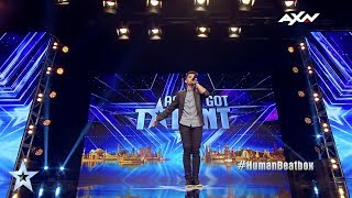 Neil Rey Garcia Llanes Judges' Audition Epi 5 Highlights | Asia's Got Talent 2017