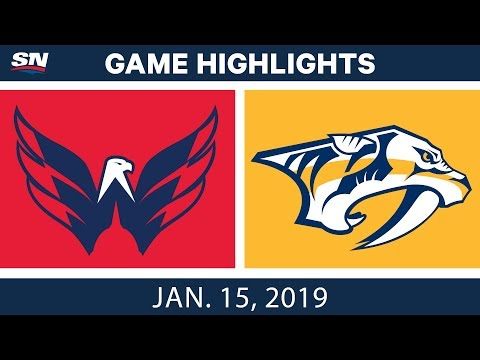 NHL Highlights | Capitals vs. Predators - Jan. 15, 2019