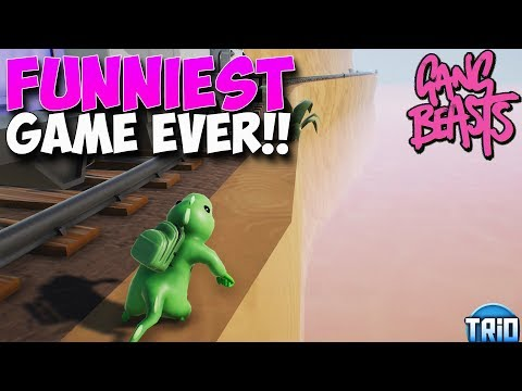 GANG BEASTS ON XBOX (FUNNIEST GAME EVER)