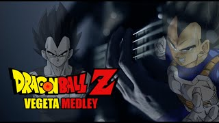 Dragon Ball Z - Vegeta Guitar Medley