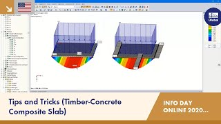 Tips and Tricks (Timber-Concrete Composite Slab) | RFEM | Info Day Online | 15.12.2020 | 4/4