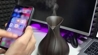 Smarter Aroma Luftbefeuchter mit Alexa & Google Home Steuerung im TEST Maxcio