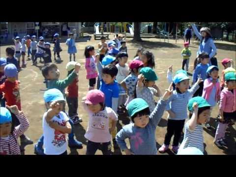 2016 4月20日 くりの木幼稚園 年少 ダンス
