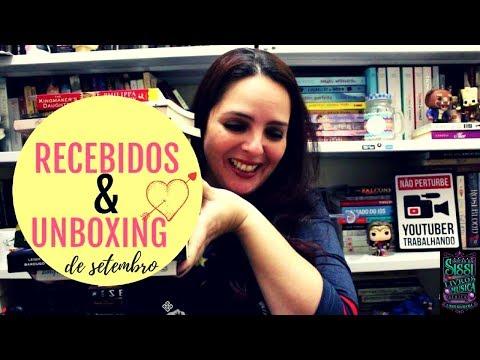 Recebidos e Unboxing de Setembro | Dicas da Sissi