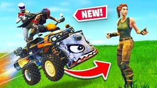 Fortnite Got A *NEW* Vehicle The Quadcrasher!