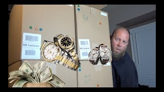 I FOUND DESIGNER WATCHES IN THIS $1,592 Amazon Customer Returns Pallet w/ Mystery Boxes