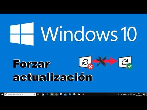 Como solucionar problema que impide la actualización a Windows 10 y forzar su instalación.