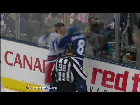 Mike Komisarek vs. Brandon Prust