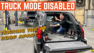 The CONVERTIBLE Roof On My GMC Envoy XUV Is COMPLETELY Broken *Troubleshooting*