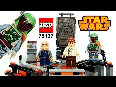 Vidéo LEGO Star Wars 75137 : Chambre de congélation carbonique