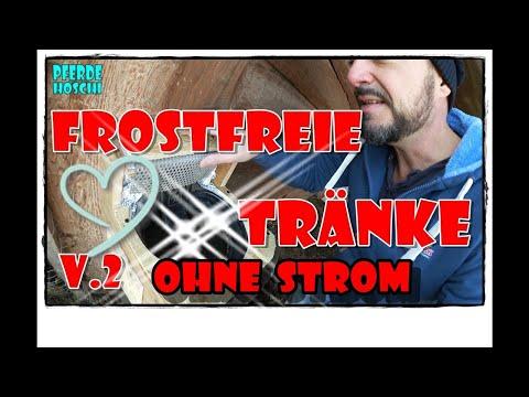Frostfreie Pferde Tränke V2 | Pferde Hoschi