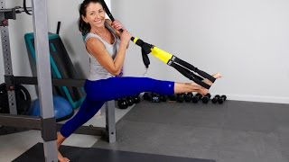 TRX Pilates for Legs and Glutes by shortcircuits with Marsha