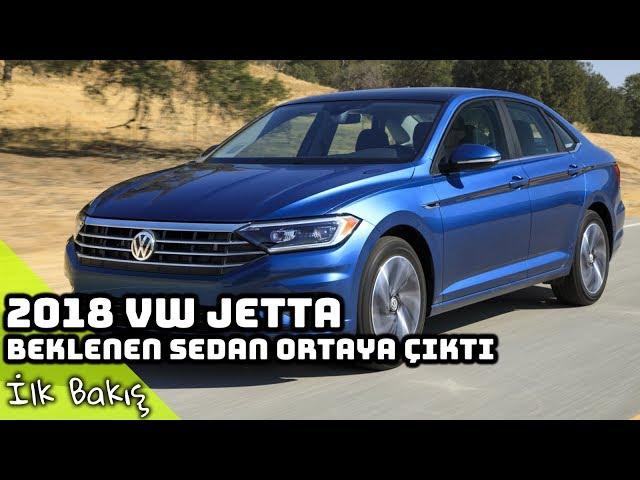 Yeni 2018 Volkswagen Jetta İncelemesi | Beklenen Sedan Ortaya Çıktı ! (English Subtitled)