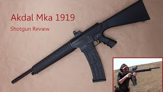 Akdal MKA 1919 Review: Semi-Auto Box-Fed 12-Gauge 3-Gun Goodness